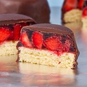 babeczki z galaretką w czekoladzie