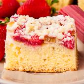 ciasto maślankowe z owocami i kruszonką