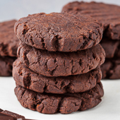 czekoladowe ciasteczka dyniowe
