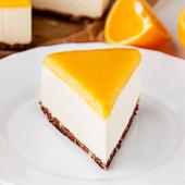 sernik pomarańczowy bez pieczenia