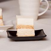 ciasto jogurtowo-grysikowe z domową masą kajmakową