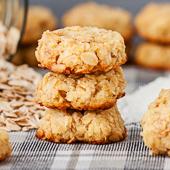 kokosowe ciasteczka owsiane bez mąki