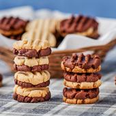 kruche ciasteczka waniliowo-kakaowe