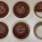 muffiny mocno kakaowe