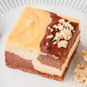 sernik chałwowo-kakaowy